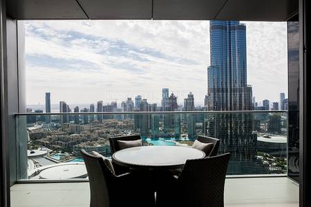 2 Bedroom Flat for Sale in Downtown Dubai, Dubai - Best 2 Bedroom | Burj Khalifa and Fountain view