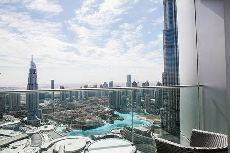 2 Bedroom Apartment for Sale in Downtown Dubai, Dubai - Full Burj and Fountain |  2 Bed | High Floor