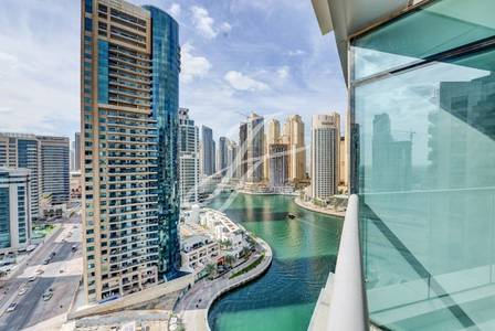 2 Bedroom Apartment for Rent in Dubai Marina, Dubai - High Floor -  Marina View - Spacious 2 BR