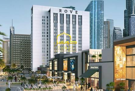 Hotel Apartment for Sale in Jumeirah, Dubai - Hotel Room for sale in Rove City Walk with 8% ROI
