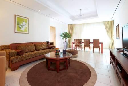 3 Bedroom Flat for Rent in Dubai Marina, Dubai - Fully Furnished 3BR|Tamani Hotel|Sea View