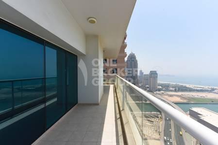 3 Bedroom Flat for Sale in Dubai Marina, Dubai - Best type 02! Large 3+maid