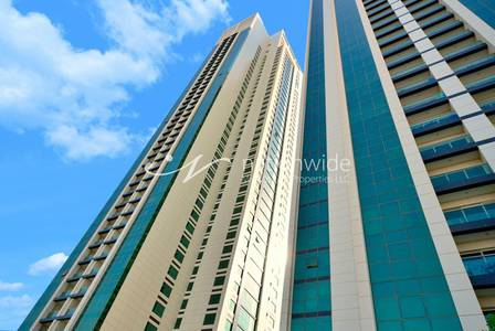 1 Bedroom Flat for Rent in Al Reem Island, Abu Dhabi - 2 Payments 1BR Fully Furnished Apartment