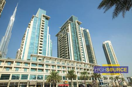 1 Bedroom Flat for Rent in Downtown Dubai, Dubai - Huge one bedroom with Study Available in Boulevard Central  Downtown