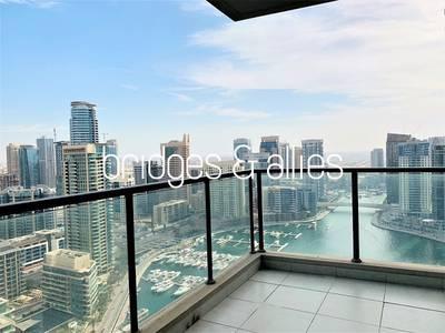 2 Bedroom Apartment for Rent in Dubai Marina, Dubai - Biggest 2BR   Marina View   Marina Quays