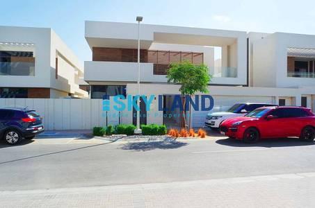 5 Bedroom Villa for Sale in Yas Island, Abu Dhabi - hot deal 5beds single row corner type t4
