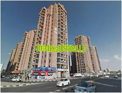3 Bedroom Apartment for Rent in Al Nuaimiya, Ajman - Naimiyah Towers: 3 Bed Hall  Maid 2366 sqft very spacious