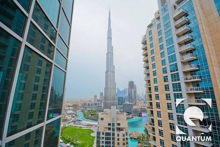 3 Bedroom Flat for Rent in Downtown Dubai, Dubai - Good Condition | Burj View | Unfurnished