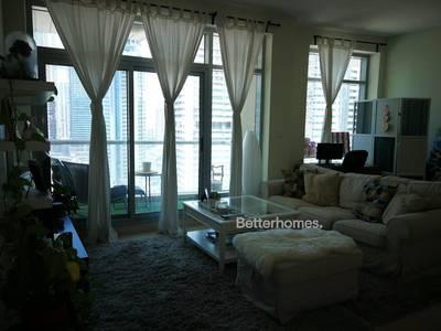 1 Bedroom Flat for Rent in Dubai Marina, Dubai - Large 1 bedroom - High Floor - Vacant 1st December
