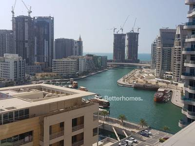 1 Bedroom Apartment for Rent in Dubai Marina, Dubai - Marina View | Spacious | Chiller Free | Ready to Move-in!