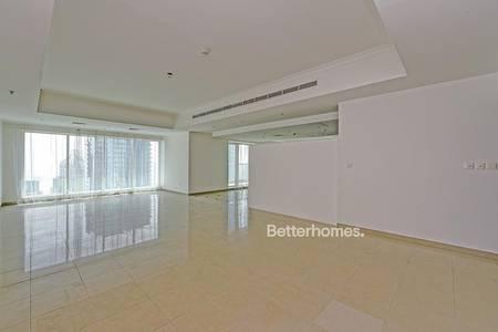 3 Bedroom Flat for Rent in Dubai Marina, Dubai - Vacant | Marina view | 3 beds + Maid | Balcony