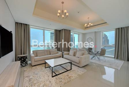 1 Bedroom Apartment for Rent in Dubai Marina, Dubai - Deluxe 1BR| Fully Furnished | Sea view| Al Dar