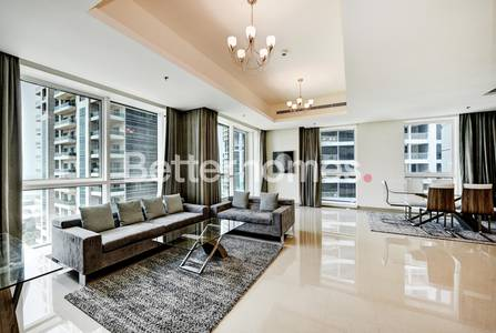 2 Bedroom Flat for Rent in Dubai Marina, Dubai - Deluxe 2BR|Fully Furnished|Marina view| Al Dar