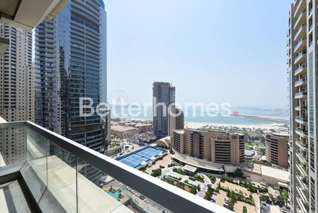 2 Bedroom Apartment for Rent in Dubai Marina, Dubai - Deluxe 2BR|Fully Furnished|Marina view| Al Dar