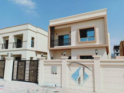 5 Bedroom Villa for Sale in Al Mowaihat, Ajman - Brand new villa Super Deluxe finishing in front of Ajman Academic area