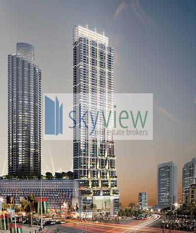3 Bedroom Apartment for Sale in Downtown Dubai, Dubai - No Premium | Burj View | Above 50th Floor