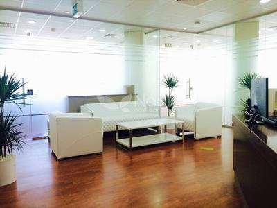 Office for Rent in Sheikh Zayed Road, Dubai - AED4000 Monthly | Fully Furnished Serviced Office