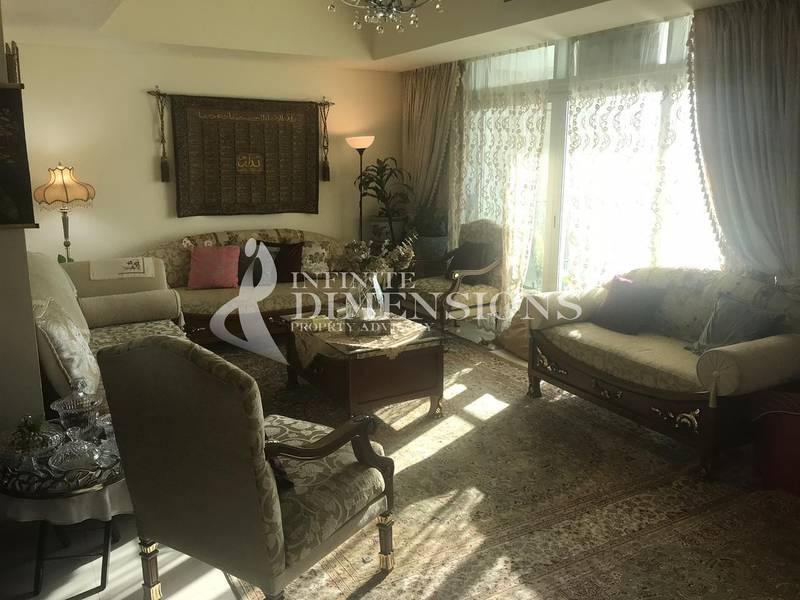 Fully Furnished 2+M in Tala Tower for Rent!