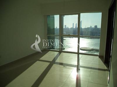 1 Bedroom Flat for Rent in Al Reem Island, Abu Dhabi - Spacious and Sea View 1BR in Al Durrah Tower For Rent!