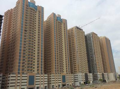 1 Bedroom Flat for Rent in Emirates City, Ajman - 1 Bed/Hall AED 16,000 with Parking in Paradise Lake Tower