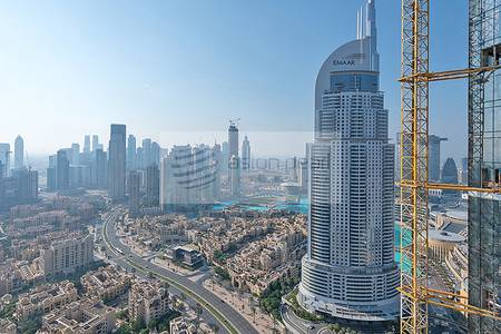 4 Bedroom Apartment for Sale in Downtown Dubai, Dubai - Half Floor Size |4 BR + M| The 118 Tower