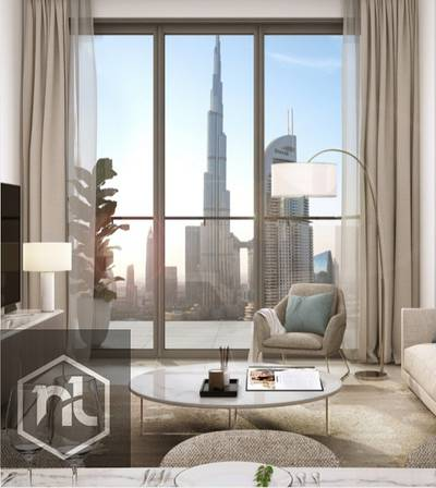 1 Bedroom Flat for Sale in Downtown Dubai, Dubai - Full Burj Khalifa View | last residential tower in Downtown