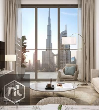 1 Bedroom Flat for Sale in Downtown Dubai, Dubai - Full Burj Khalifa View | last residential tower in Downtown