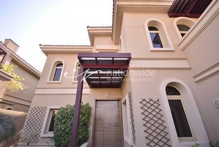 4 Bedroom Villa for Rent in Al Raha Golf Gardens, Abu Dhabi - Alluring 4BR Villa + Pool - Golf Gardens