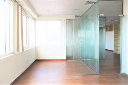 Office for Rent in Sheikh Zayed Road, Dubai - Fitted Office |Glass Partition| Sheikh Zayed Road |For Rent