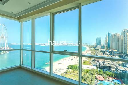 2 Bedroom Flat for Sale in Jumeirah Beach Residence (JBR), Dubai - Motivated seller|2 bedroom|Full Sea View
