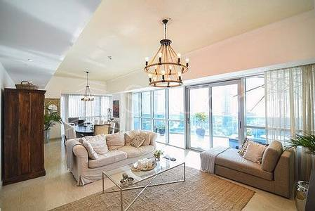 3 Bedroom Flat for Sale in Dubai Marina, Dubai - Vacant 3BR Marina View in Jewels Tower 2