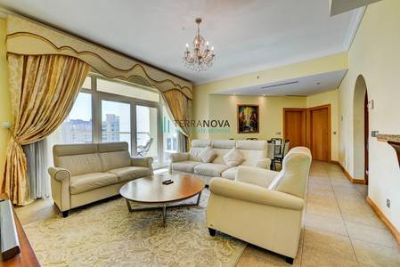 2 Bedroom Apartment for Rent in Palm Jumeirah, Dubai - Shoreline Al Msalli | Two Bed - Fully Furnished