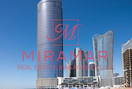 Office for Rent in Al Reem Island, Abu Dhabi - Fully Fitted High Floor Ready to Move!