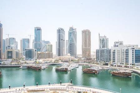 2 Bedroom Apartment for Sale in Dubai Marina, Dubai - Vacant 2BR with Maids Room Full Marina View