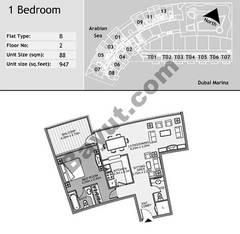 1st Floor 1 Bedroom Type B5