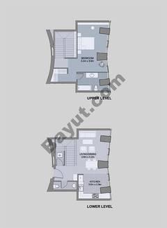 Floors (49-60) Type 3 Unit-3 3 Bedroom