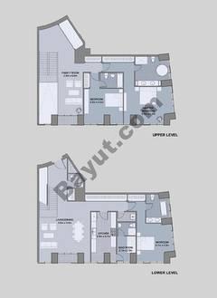 Floors (49-60) Type 3 Unit-5 3 Bedroom