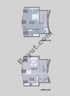 Floors (49-60) Type 3 Unit-8 3 Bedroom