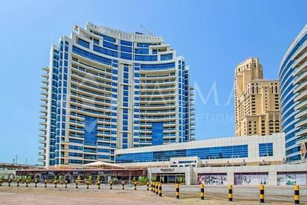 1 Bedroom Apartment for Sale in Dubai Marina, Dubai - Beautiful Corner Sea View in Dorrabay Tower