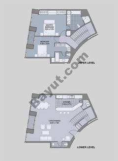 Floors (49-60) Type 3 Unit-9 3 Bedroom