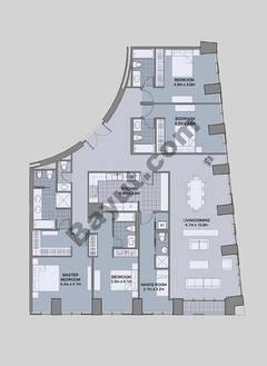 Floors (61-66) Type 4 Unit-2 4 Bedroom