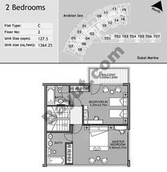 2nd Floor 2 Bedroom Type C7