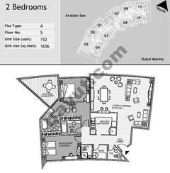 5th Floor 2 Bedroom Type A5