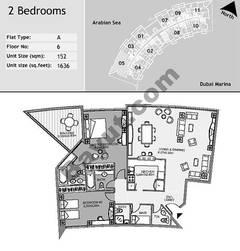6th Floor 2 Bedroom Type A5