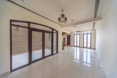 4 Bedroom Townhouse for Rent in Jumeirah Village Circle (JVC), Dubai - Two Floors | Park view | Town house villa in Le Grand Chateau For Rent