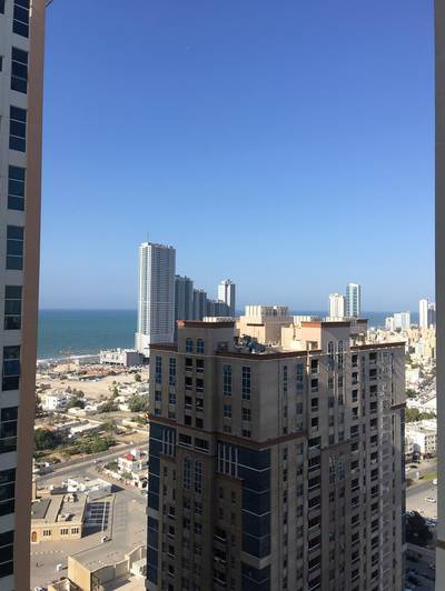 2 Bedroom Flat for Rent in Al Sawan, Ajman - 2 bhk  for rent 12 payment in Ajman one tower