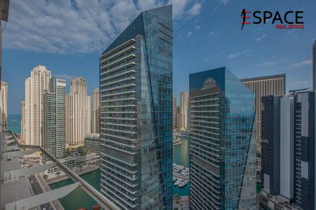 2 Bedroom Apartment for Sale in Dubai Marina, Dubai - Best Layout with Study Room and Partial Marina View