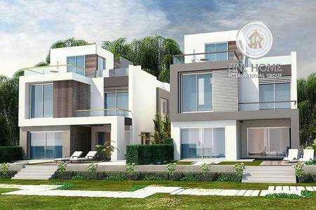10 Bedroom Villa for Sale in Airport Street, Abu Dhabi - Modern 2 Villas Compound in Airport Road
