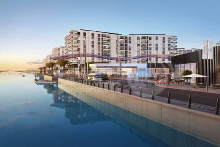 2 Bedroom Apartment for Sale in Yas Island, Abu Dhabi - Off Plan. Terraced Flat with pool View..