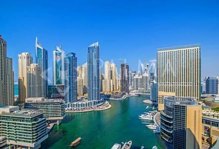 3 Bedroom Apartment for Sale in Dubai Marina, Dubai - Furnished Breathtaking 3BR Marina Views Silverene Towers